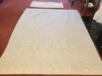 "Huge Pair of Curtains - each curtain 85""drop x 67"" wide approximately"