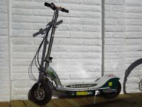 Razor E300 Maximum Overdrive 15mph Electric Scooter (Needs charger & new batteries)