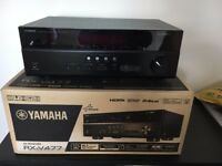 Yamaha RX-V477 5.1 Surround Cinema Networked Receiver Amp with Spotify + WiFI Adapter