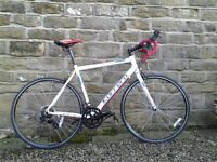 Road bike, Limited Edition Carrera Karkinos, 54cm frame in White