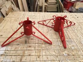 Christmas Tree Stands (4 & 5 inch diameters)