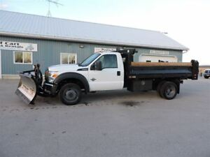 2015 Ford F-550 Lease to Own, Diesel,4X4,New Tires, 11Ft Dump