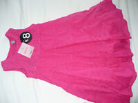 Brand new with tags pink TU summer dress for 6 years. 100% cotton.