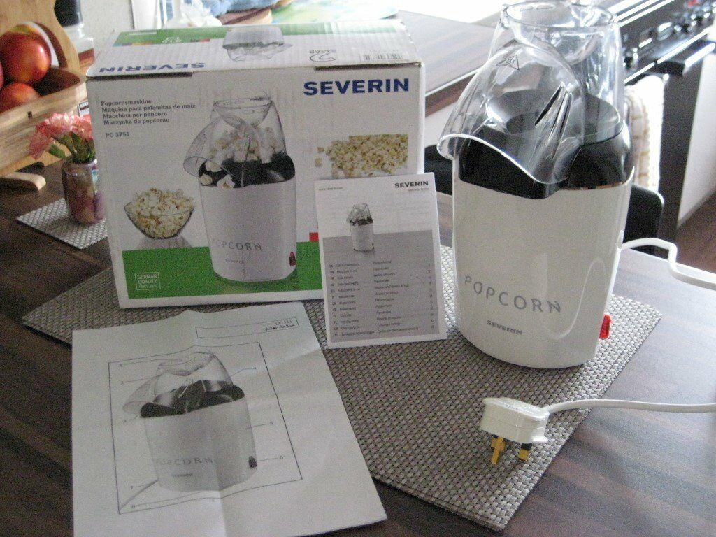 Severin Popcorn maker