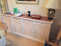 Multiple furniture items