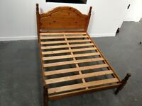 Pine bed frame (double)