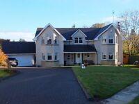 5 Bedroom detached Family Home in Kippen offers over £425,000.