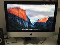 """21"""" Late 2013 iMac, i5, 8GB Ram, 1Tb HDD - Great Condition"""