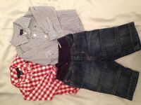 Tommy Hilfiger shirts and jeans 3-6 months