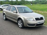 Skoda Superb 2.5 Diesel V6 Elegance only 94k Miles,Cambelt changed at 74k, Service History, 2 Keys