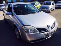 NISSAN PRIMERA PETROL MANUAL 5 DOORS SALOON