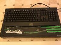 Razer black widow keyboard