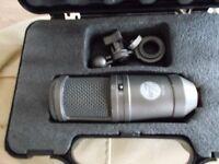 studio pro 7 series pgt-80 condenser microphone