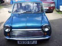 mini 1275 carb engine not spi