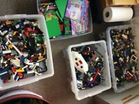 Lego 43KG bundle with minifigures and MORE
