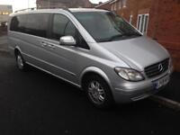 2010 59reg Mercedes Viano 2.2 Ambient XLWB Full Leather Automatic