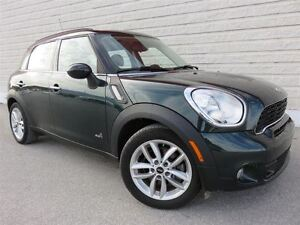 2012 MINI Cooper S Countryman PANORAMIC ROOF & LEATHER & AWD & 6