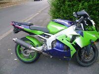 1998 Kawasaki ZX6R G1 damaged spares or repair may break