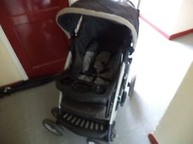 MOTHER CARE PUSH CHAIR WITH RAIN COVER VERY CLEAN BARGAIN £15