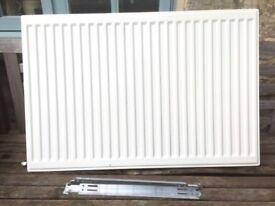 Central Heating Radiator 60cm X 90cm double panel, single convector