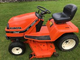 Kubota g1900 ride on mower