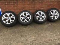 "17"" transit Connect alloy wheels ST style"