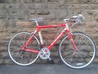 "NEW British Eagle Revival 28 Inch 700c Alloy Road Bike Racer 22"" (56cm) Commuter RRP £299"