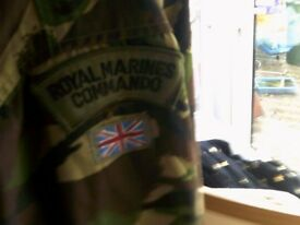 ARMY COMBAT JACKETS X 2 PLUS TROUSERS AND COLD WEATHER HAT £25 THE LOT