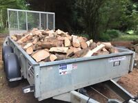 Logs firewood for wood burners, free delivery 20 miles of Chelmsford