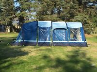 Deluxe family tent-Kampa Filey air 6