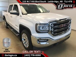 Used 2017 GMC Sierra 1500 SLT-4WD, Heated/Cooled Leather