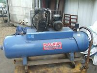 COMPRESSOR LARGE TANK. SPRAYING, AIR TOOLS