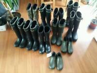 Dirt boot neoprene welingtons