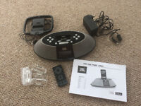 JBL On Time 200P 30-pin ipod/iphone speaker with AM/FM radio