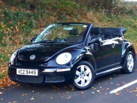 06 facelift model Volkswagen Beetle 1.4 Luna Cabriolet convertible trade in welcome,credit cards ok