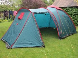 Large Royal Camping Memphis 4 Tent could sleep up to 8 ideal festival tent for sleeping or gathering