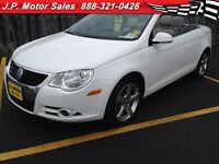 2007 Volkswagen Eos Manual, Leather, Heated Seats, Convertible,