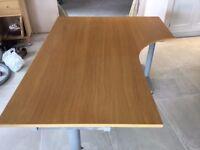IKEA GALANT oak corner desk