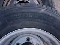 Tyres size 225/75/16C