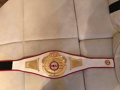 IBU Belt International Boxing Union Gürtel