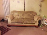 Sofa and two armchairs FREE