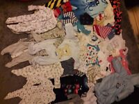 Used baby clothes 0-3 months for boy very good condition only £11