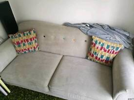 Sofa works two and three seater less than 18 months old