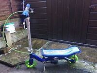 SPACE SCOOTER JUNIOR HARDLY USED FOLDABLE SPORTS SCOOTER