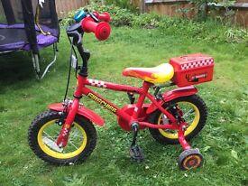 """Apollo Firechief Bike 3-5 years 12"""""""
