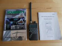 trident trx 200 radio scanner/ communications receiver