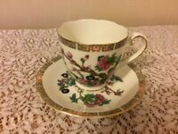 Vintage cups and saucers - excellent condidtion