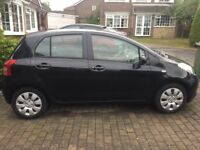 Toyota Yaris 5 door hatchback, 1 lady driver from new.