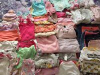 Girls clothes 6-9 /9-12 bag