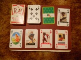 PG Tips playing cards